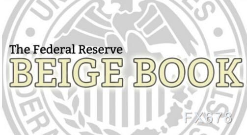 美联储褐皮书:经济复苏步伐加快,劳动力市场也有所改善
