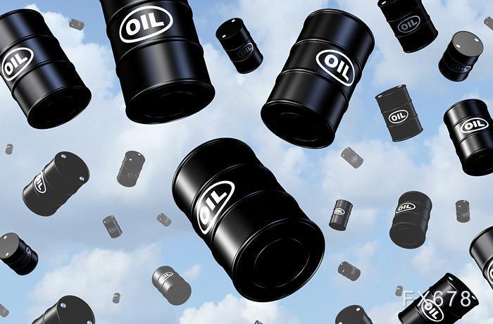 INE原油小幅下跌,两大经济体疫情再度失控