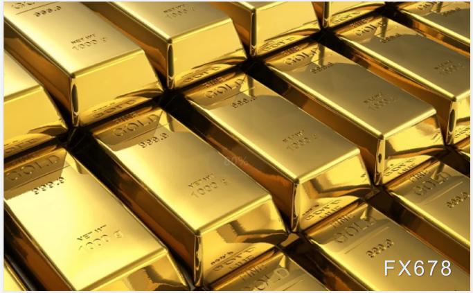 黄金价格技术分析:上行趋势完整,有望重上千八关口